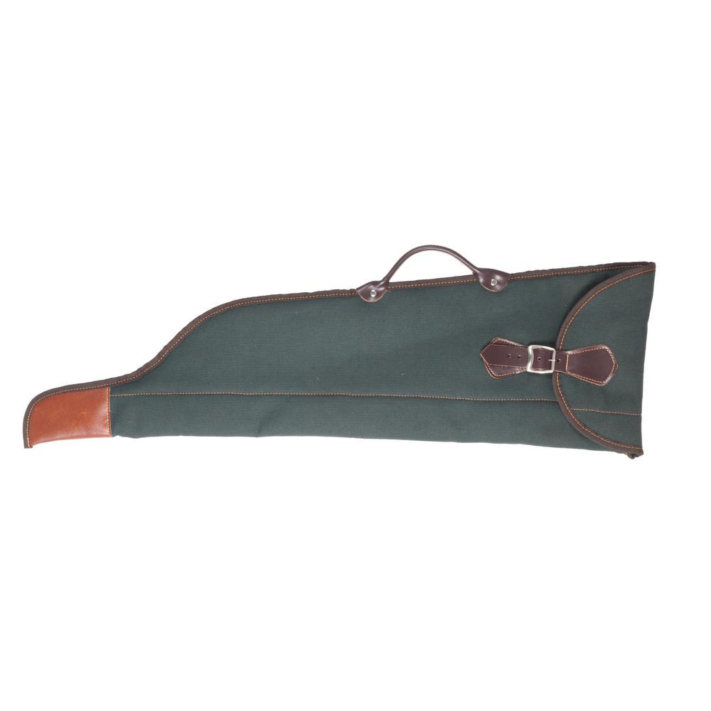 Funda para escopeta paralela desmontada en lona nylon con forro interior de borreguillo - Funda escopeta ...