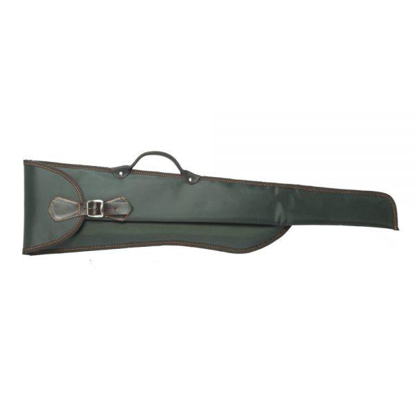 Funda para escopeta paralela desmontada independiente en lona-nylon con forro interior de borreguillo