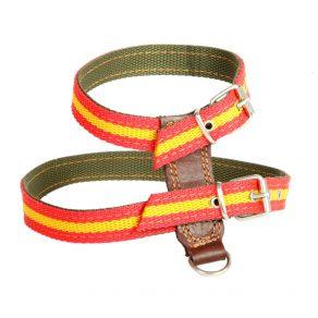 Arnés para perro en cinta de nylon doble capa