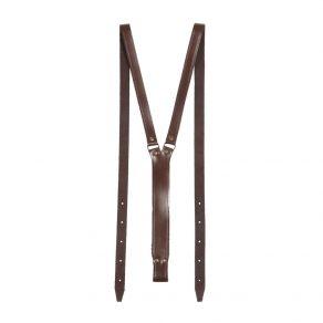 Tirantes de piel de bovino para cinturón